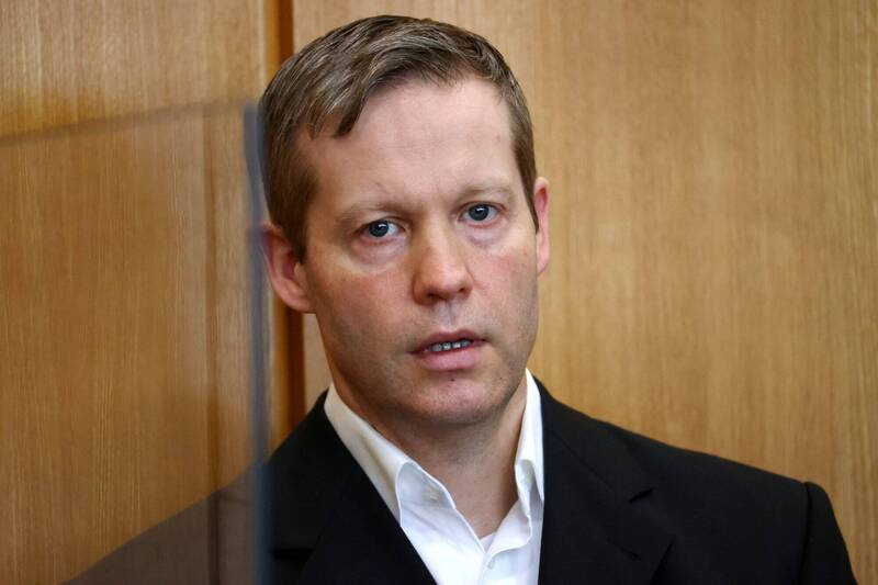 斯蒂芬·恩斯特(見圖)在法庭上承認開槍殺死了基督教民主黨政治家呂貝克。(法新社)