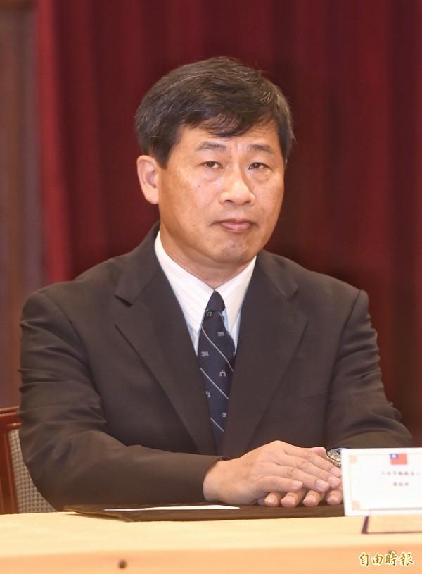 進黨立委尤美女丈夫、大法官被提名人黃瑞明上午表示,若未來處理民進黨立委尤美女主提的釋憲案會主動迴避。(資料照,記者方賓照攝)
