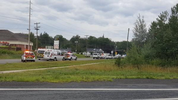 加拿大紐賓士域省的弗雷德里克頓市當地時間10日早上接近9點時,發生4死槍擊案。(路透)