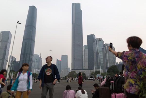 中國在2018年完工88棟樓高摩天大樓,創下歷史新高,但由於美中貿易戰的影響,中國的建築業可能會蒙上陰影。(歐新社)