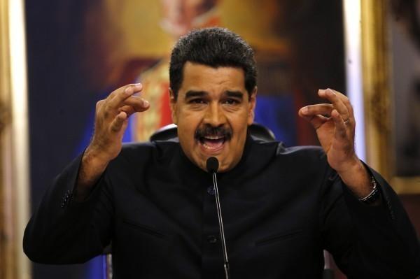 委內瑞拉總統馬杜羅。(美聯社資料照)