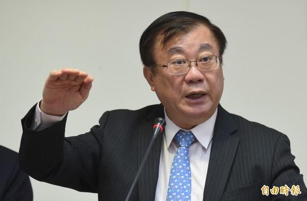 農委會主委陳保基允諾,表示若真的開放中國農產品進口,會辭職表示抗議。(資料照,記者劉信德攝)