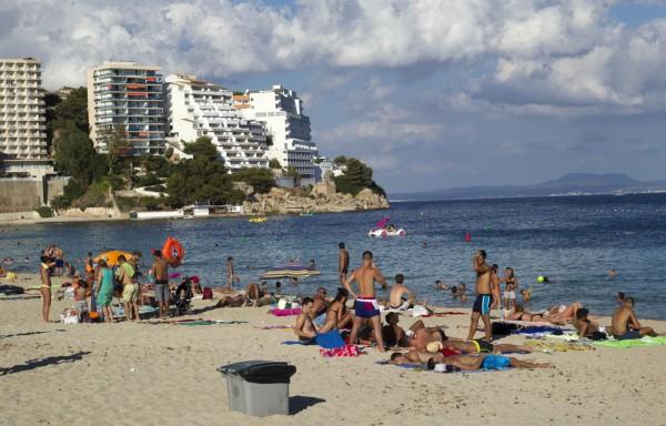 西班牙的馬約卡島也進入前10,位列第4名。(法新社)