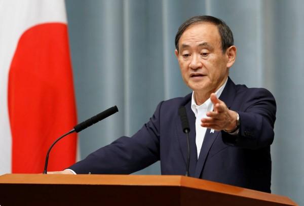 菅義偉表示,若台灣官方提出需求,日本願提供必要協助。(路透)