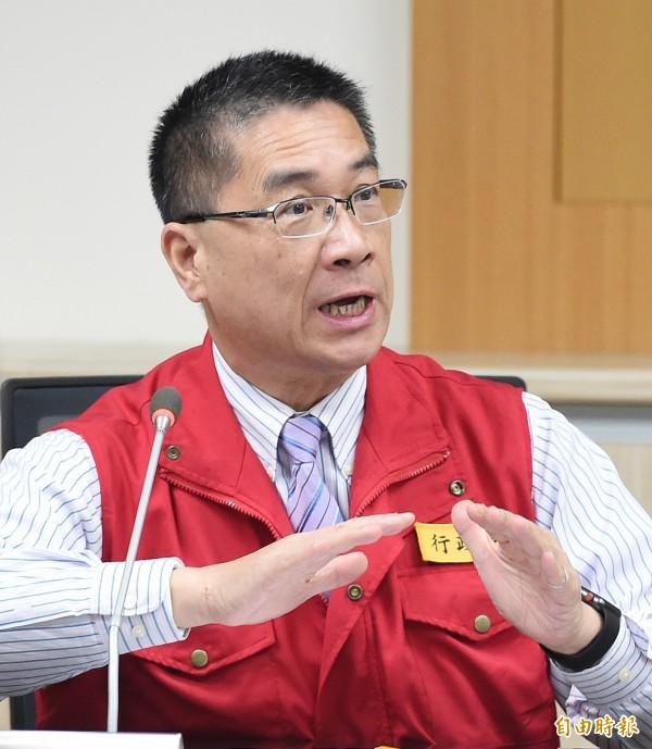 內政部長徐國勇主張「調度司法警察條例」應廢止,行政院預計本月16日開會討論。(資料照,記者廖振輝攝)