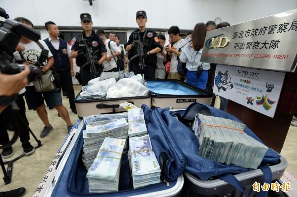 一銀盜領案,警方已追回贓款6024萬。(記者林正堃攝)