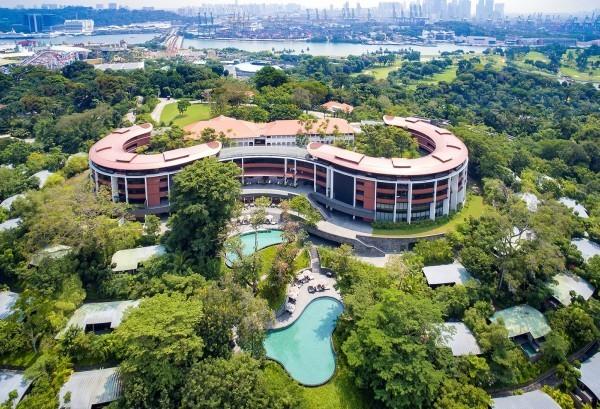 白宮發言人桑德斯5日宣布,川金會地點將在新加坡聖淘沙的嘉佩樂飯店舉行。(路透)