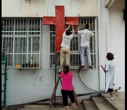 中國當局大舉迫害宗教自由。(此為情境照,圖擷取自邢福增臉書)