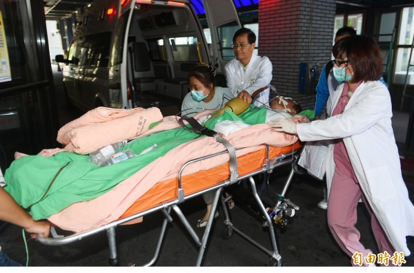 一名護理人員回憶塵爆當天,有傷患強忍傷痛說謝謝,讓他感到既心疼又溫暖。(圖與新聞事件無關)(資料照,記者張嘉明攝)
