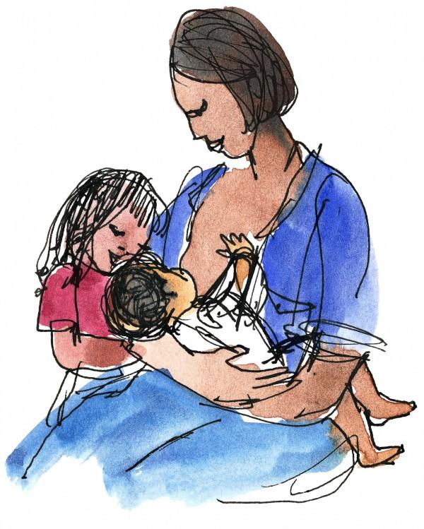 台灣IBM讓出差在外的媽媽員工能免費宅配母乳回家。(情境照)