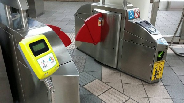 北捷無障礙閘門9月1日將開放一卡通使用。(圖由北捷提供)