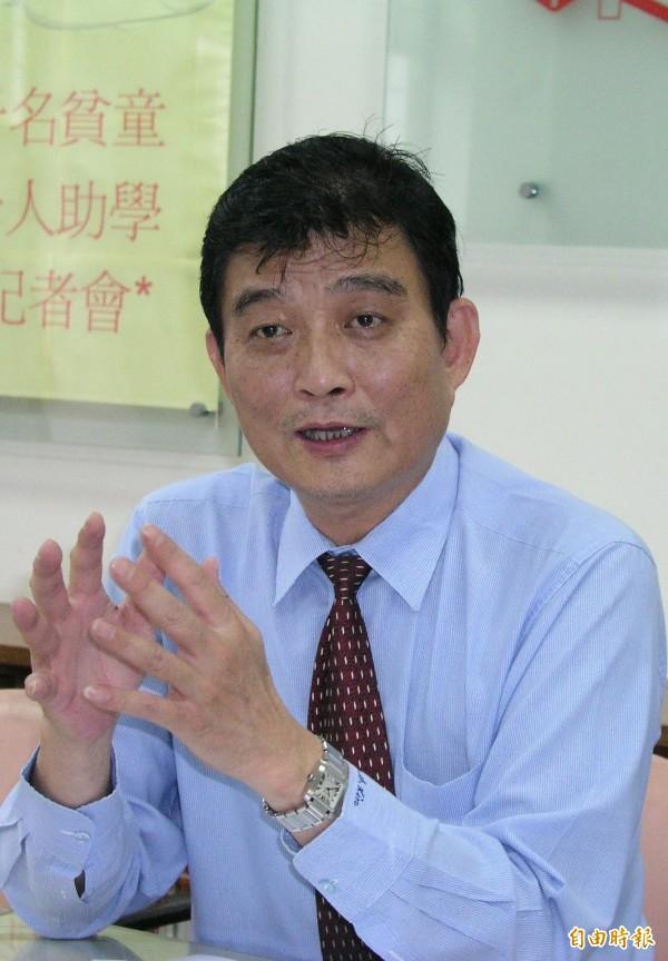 國民黨前立委林南生,今日於成大醫院病逝。(資料照,記者王俊忠攝)