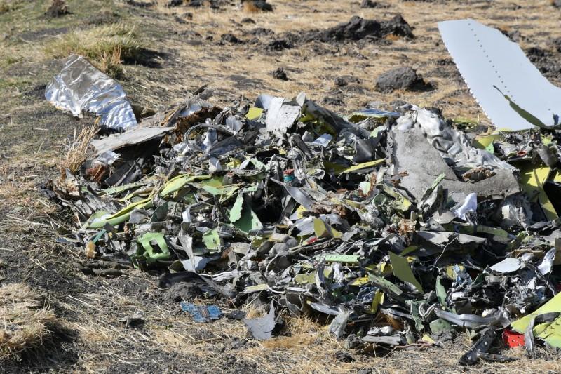 衣索比亞航空公司一架飛往奈洛比的客機10日失事墜毀,機上157人無人生還。(歐新社)