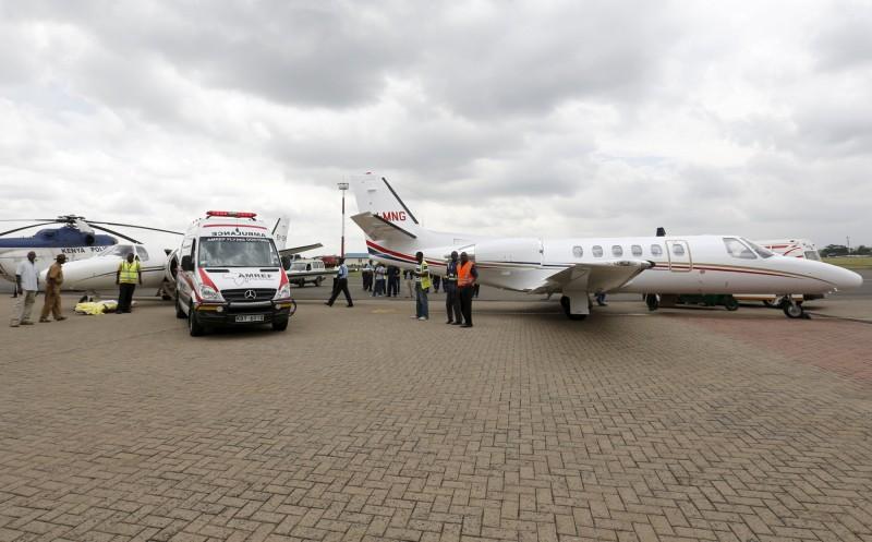肯亞首都奈洛比的威爾遜機場(Wilson Airport)近來拍賣了12架飛機,最便宜的飛機只要1000美元(約新台幣3.1萬元)。威爾遜機場示意圖。(路透)
