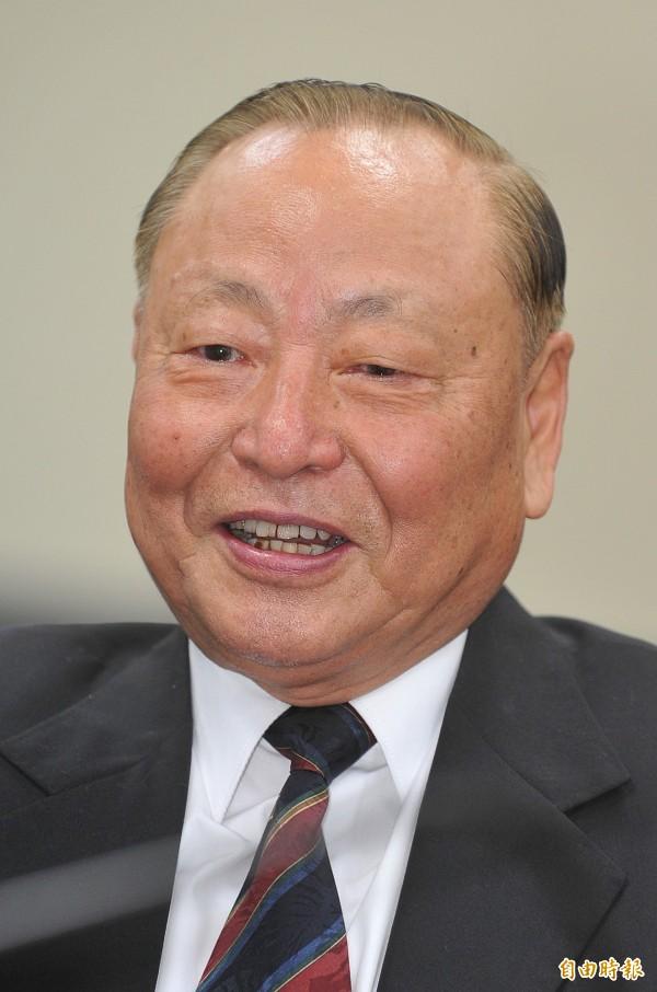 退役上將王文燮。(資料照,記者劉信德攝)