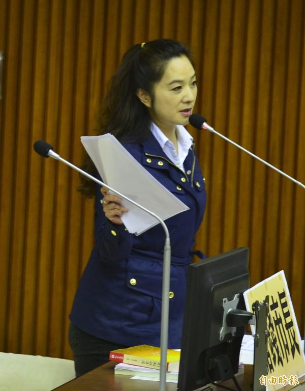 台北市議員應曉薇。(資料照,記者王藝菘攝)