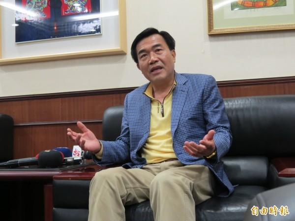 台南市議長李全教涉及議長賄選案,一審判有期徒刑四年。(資料照,記者蔡文居攝)