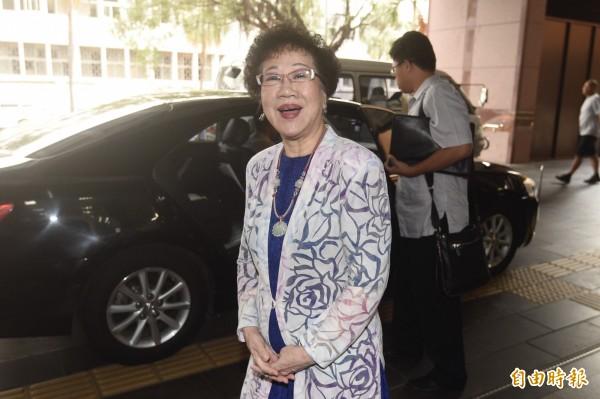 呂秀蓮今在臉書發佈影片,稱自己對投入2018台北市長競選早已有「審慎準備」。(資料照,記者叢昌瑾攝)