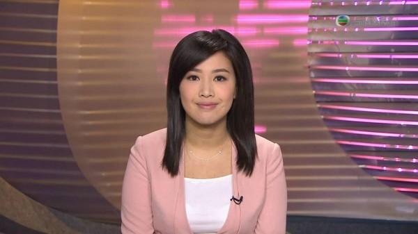 有網友稱,高芳婷9月時已傳出不續約,將於11月底離職。(圖擷取自TVB新聞台)