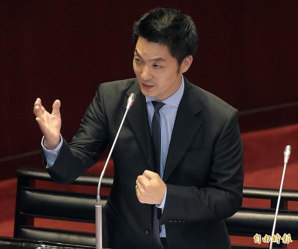 立法院19日召開司法院大法官被提名人黃瑞明同意權審查會,國民黨立委蔣萬安質詢。(記者黃耀徵攝)
