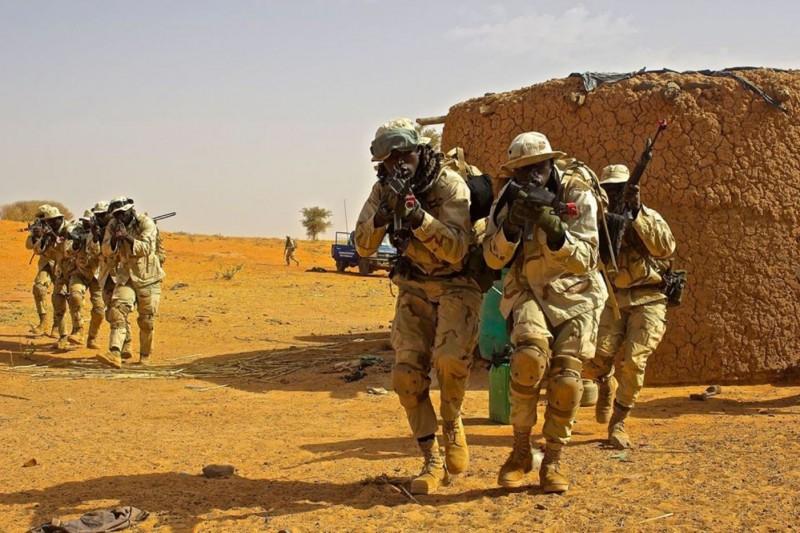 西非國家尼日(Niger)今(15)日驚傳有17名尼日軍人遭埋伏槍殺,另11名下落不明的消息。圖為尼日軍人示意圖。(圖取自尼日軍方臉書@nigerarmy)