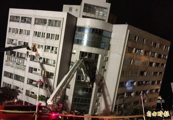 花蓮地區6日晚間11:50左右發生規模6有感地震。(記者王峻祺攝)