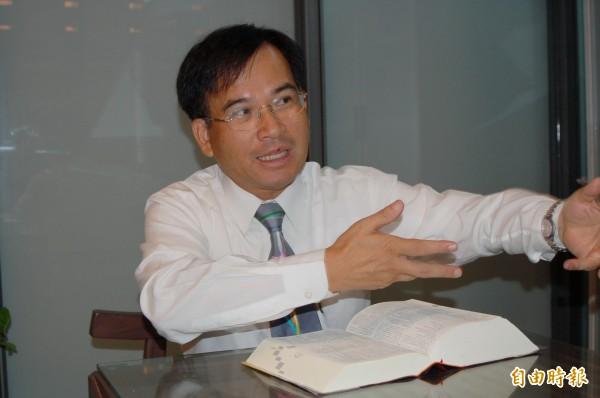 蘇煥智打算退出民進黨,以無黨籍身分參選台北市長。(資料照)