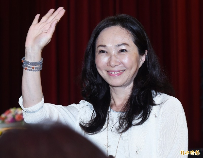 韓國瑜夫人李佳芬表示,是有支持者捐贈了面膜,不是韓國瑜拿支持者的捐款買面膜。(資料照)