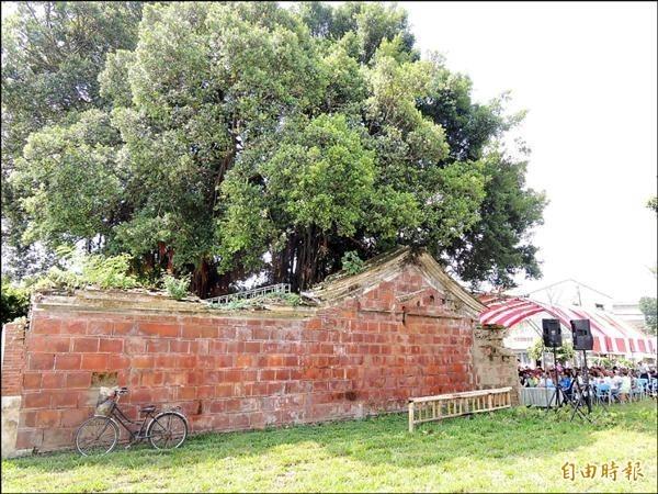 陳子鏞故居經過綠美化規劃,成為兼具歷史文化與休閒遊憩的公園場所。(資料照,記者林孟婷攝)
