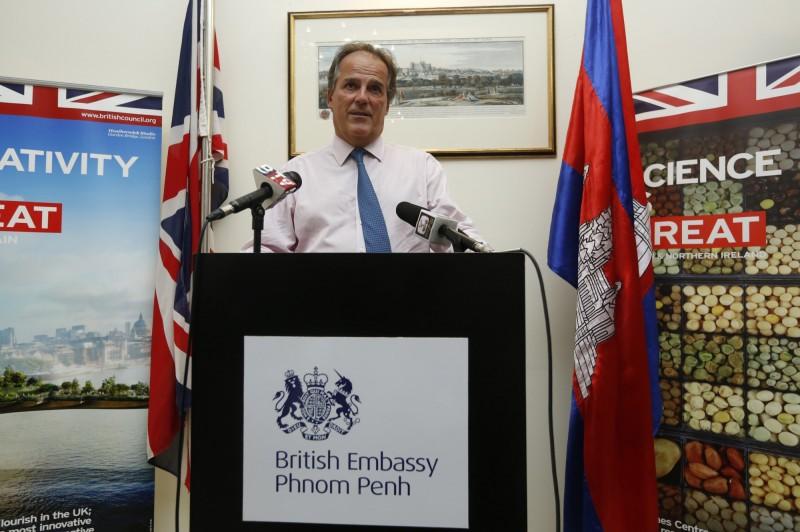 世界衛生大會將在5月舉行,英國外交部主管亞太事務副部長費爾德(見圖)公開表示支持台灣以觀察員身分出席WHA。(歐新社)