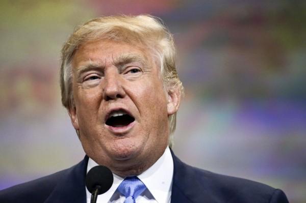 美國地產大亨川普最近在總統提名演說上批評墨西哥移民者,引發許多拉丁美洲移民者及墨西哥官員譴責。(資料照,美聯社)