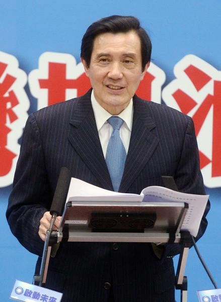 馬英九表示,蔡英文曾提出兩岸協議不用備查,因為沒有動到法律。(資料照,記者王藝菘攝)