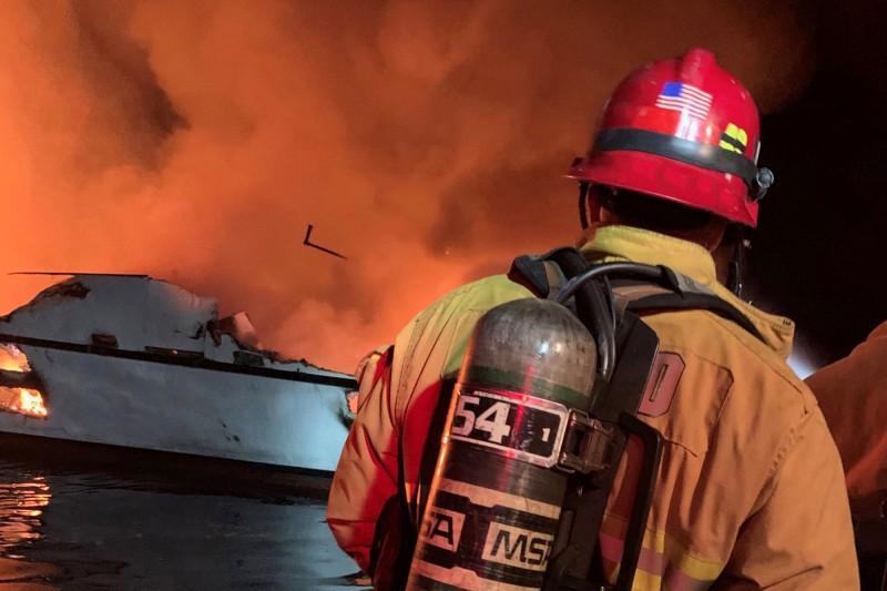 文圖拉縣消防部門向媒體證實,已有一些人喪命。(路透)