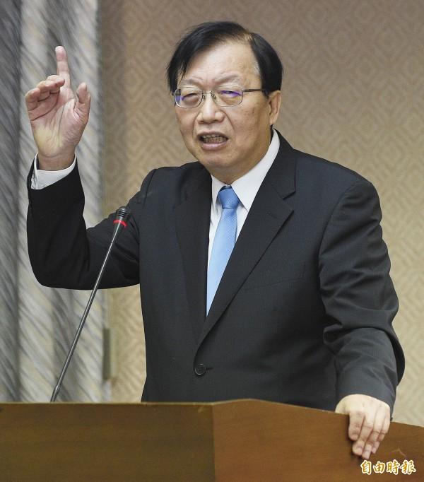 內政部長陳威仁。(資料照,記者陳志曲攝)