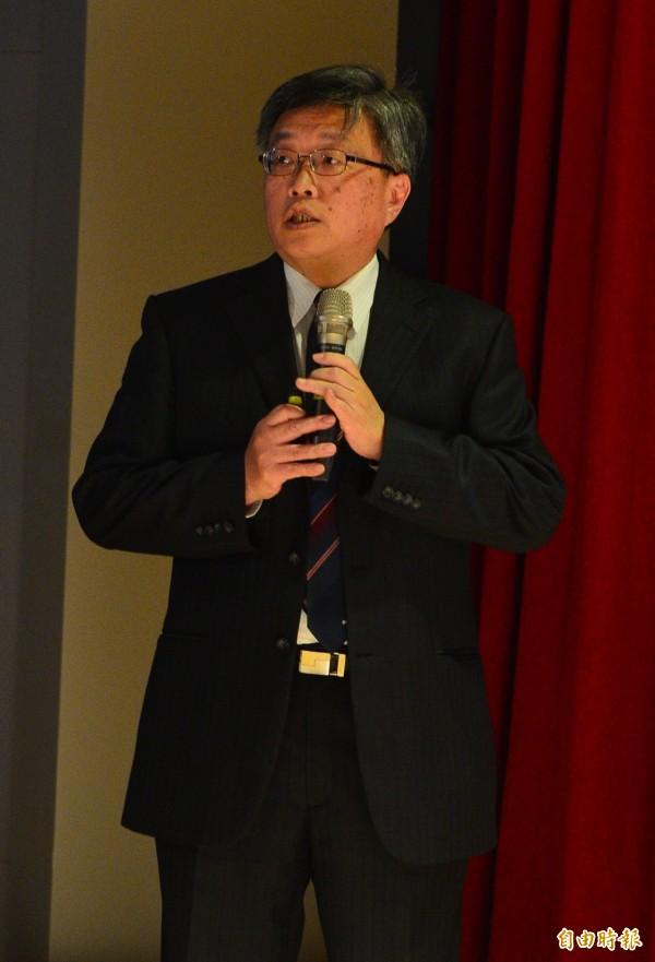 台大校長管中閔今上任,與管同期競爭校長一職的台大電機系教授陳銘憲任副校長。(資料照,記者王藝菘攝)