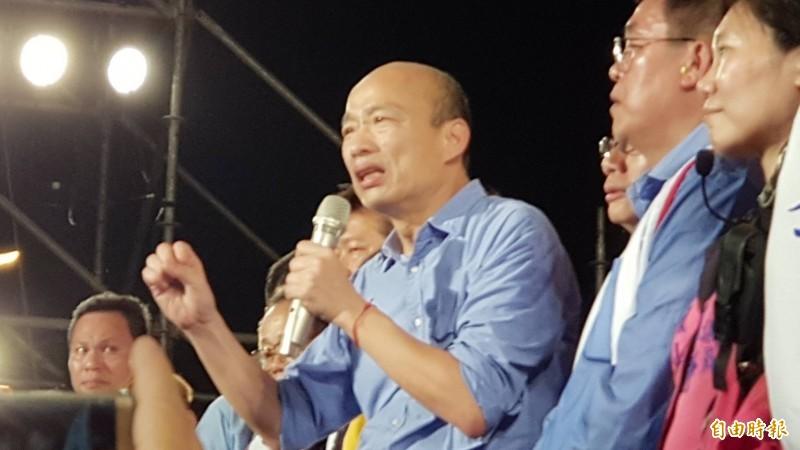 國民黨台北市議員游淑慧日前在政論節目中提出「韓國瑜的危機」,她坦言,韓國瑜的民調受傷,「大概全部都在年輕人這個部分」。(資料照)