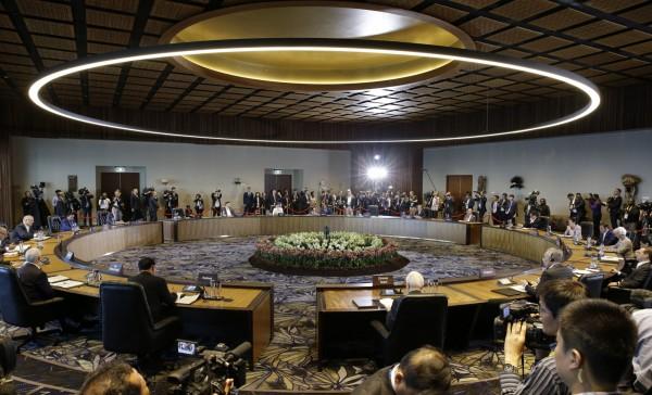 有美國媒體報導,因中國不滿「不公平貿易行為」一詞寫入宣言中,推翻APEC其他成員本來已達成的協議。(美聯社)