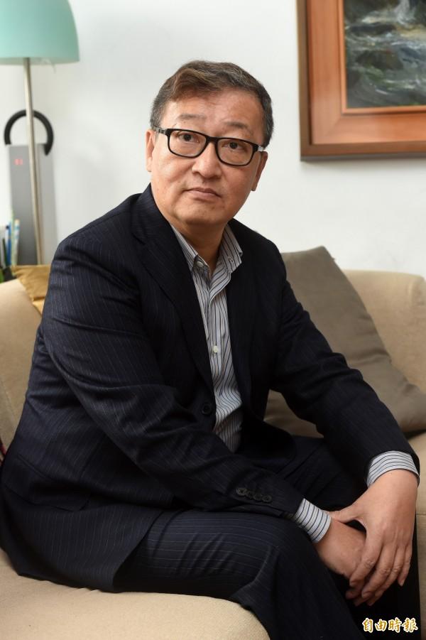 台大經濟學系教授林向愷,將出任悠遊卡投控公司官派董事。(記者簡榮豐攝)
