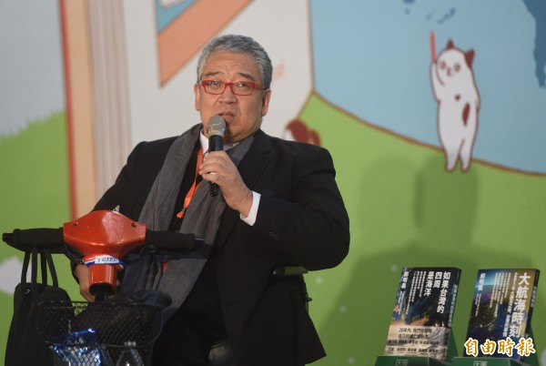 前總統府國策顧問郝明義今下午和行政院長林全開會。(資料照,記者簡榮豐攝)