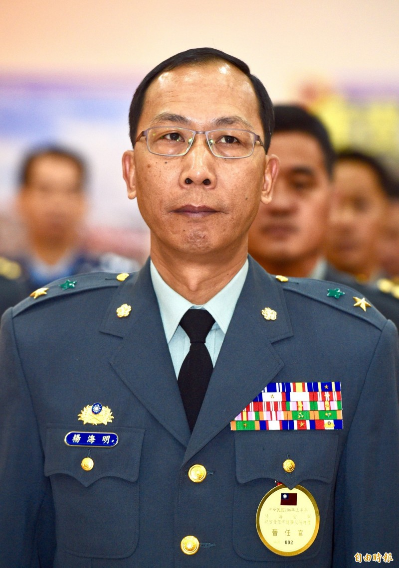 陸軍參謀長楊海明(見圖)今日表示,M1A2戰車的車重約63噸,但機動力和戰術運用沒問題。(資料照)