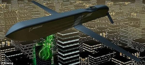 美軍聲稱研發出可癱瘓電子產品的電磁脈衝科技,並將此科技安裝於導彈上,被媒體稱為「沉默的導彈」。(圖擷自《每日郵報》)