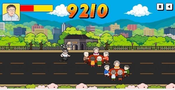 遊戲中的主角就是柯P。(圖擷自「奔跑吧!台北」網站)