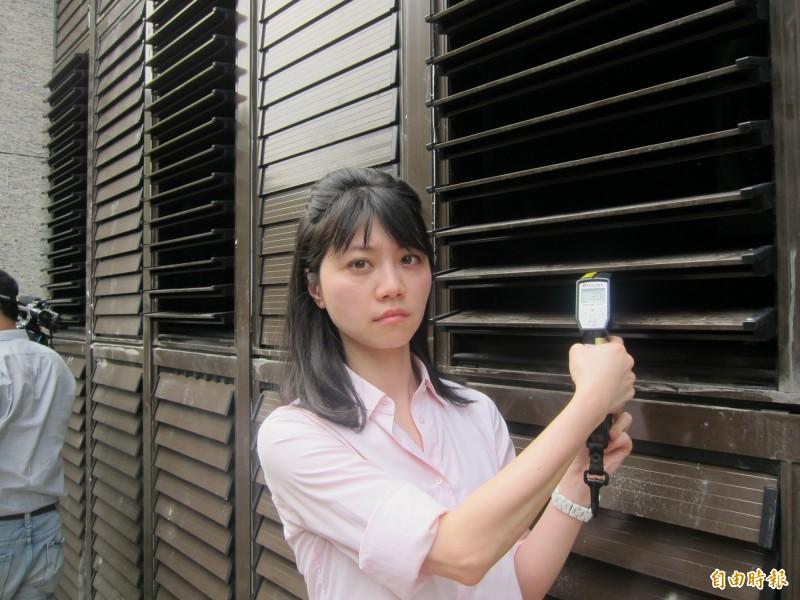 高嘉瑜在臉書上喊冤表示,自己因為新聞剪接遭到誤罵,直喊「躺著也中槍」。(資料照,記者蔡亞樺攝)