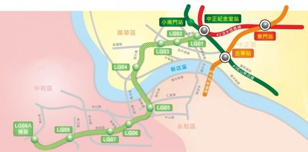 捷運萬大線第一期工程暨信義線東延段各車站站名,今天公布。(北市捷運局提供)