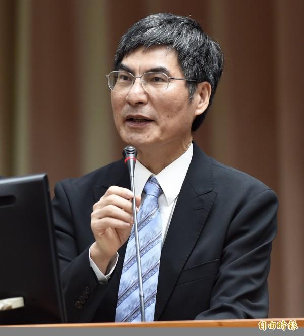 科技部長陳良基表示,就科技發展而言,人才是最重要的。(資料照)