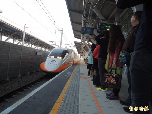 怎麼搭高鐵最快呢?看車次編排碼就能分辨列車停站模式。(資料照,記者廖淑玲攝)