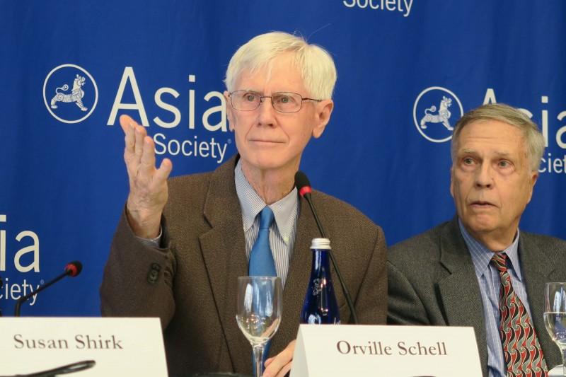 夏偉表示,邀請蔡英文至美國國會演說雖深具象徵意義,但可能招來北京極其危險的回應。(中央社)