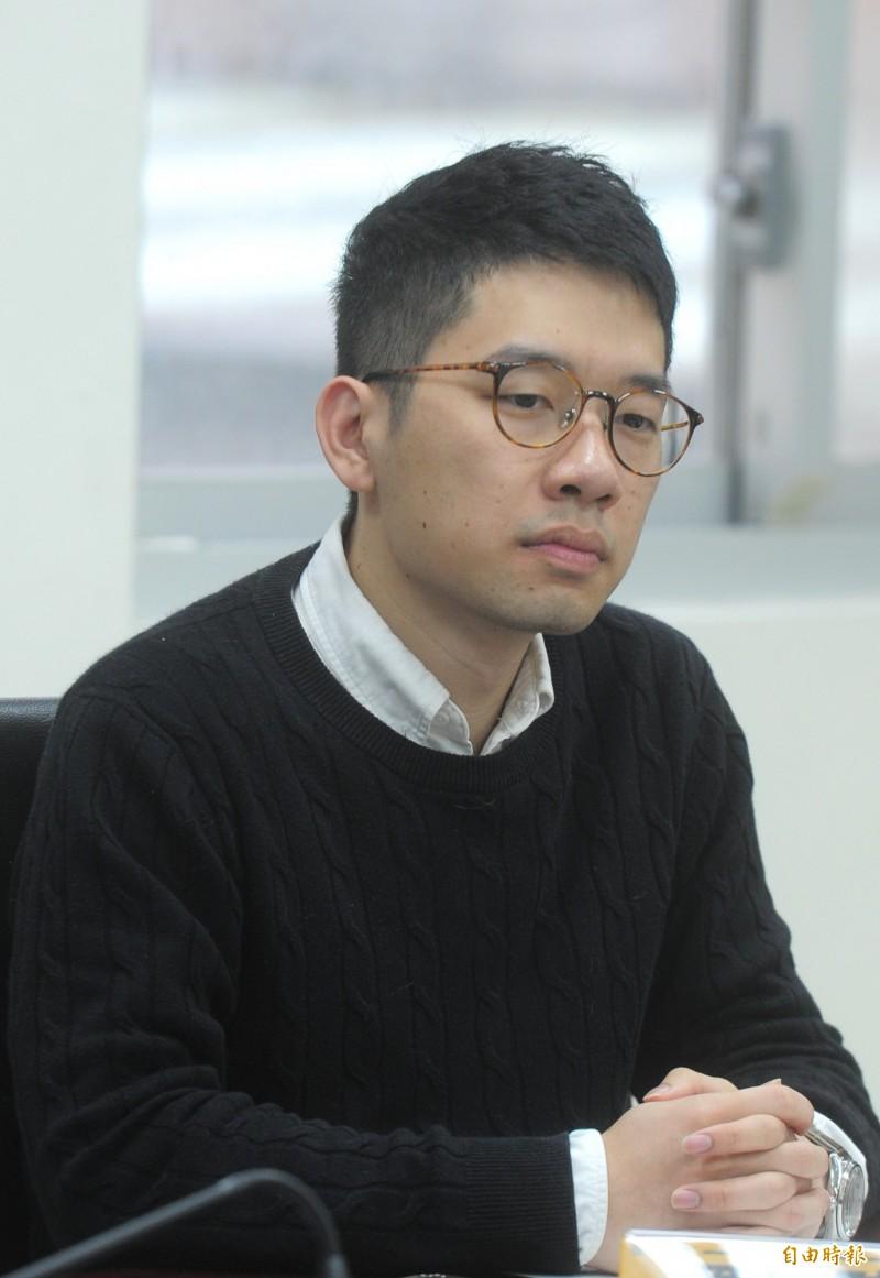 香港立法會議員羅冠聰今表示,香港原為自由民主地區,卻漸被中共政權左右未來走向,台灣關注香港,不單為香港,更是為台灣。(記者王藝菘攝)