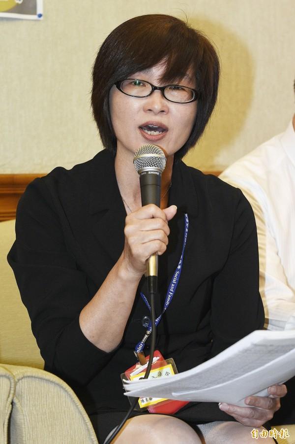 陳素春表示,衛福部將成立輔導團,到長照2.0試辦區提供協助。(資料照,記者陳志曲攝)