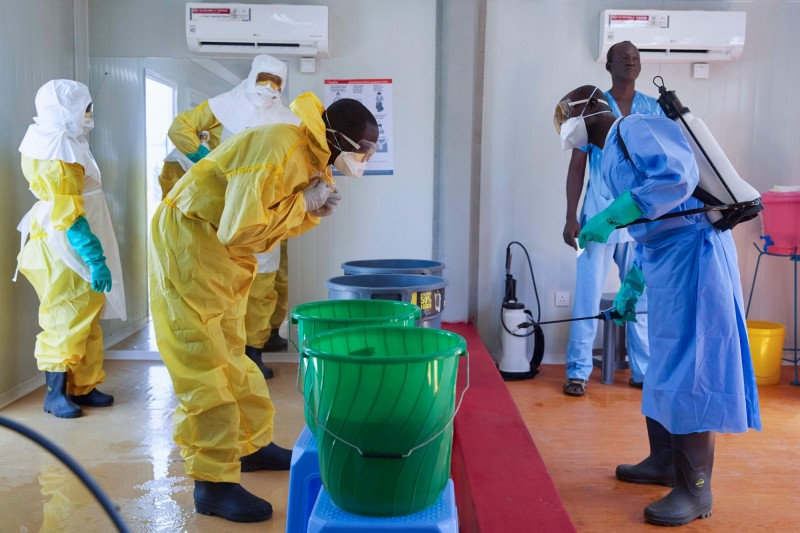 剛果一處伊波拉治療中心遭武裝份子襲擊,有4名確診患者趁隙逃了出去,目前行蹤不明。(法新社)